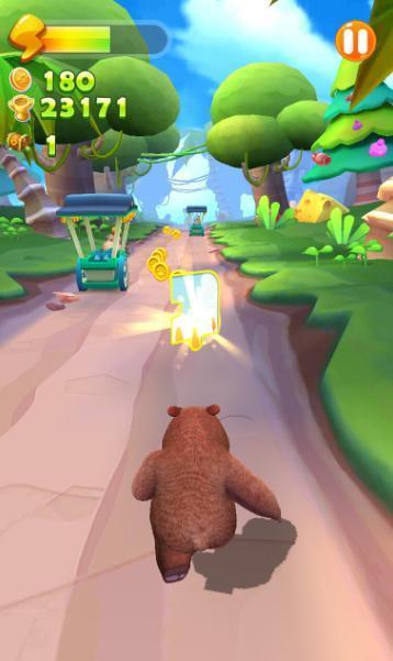小道具大用处 《熊大熊二向前冲》跑酷技巧