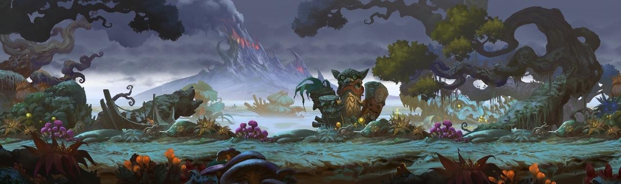 《镇魔之剑》地图欣赏-虫海白骨山_图集_360游戏