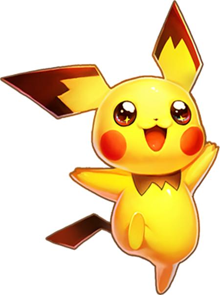 说起萌神皮卡丘,那可是小编对神奇宝贝最深刻的印象,黄色的皮肤,闪电